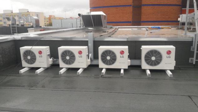 Realizace VZT + klimatizace